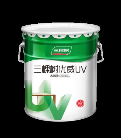 UMG253三棵樹優威(UV)3分光清面漆