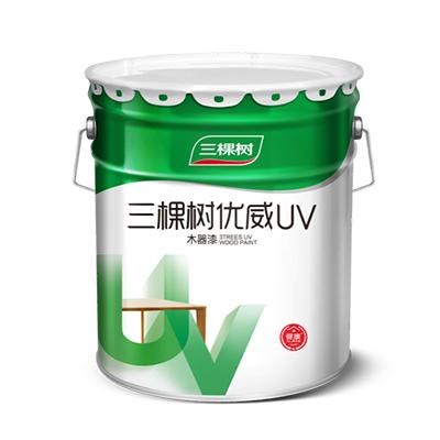 UDP610三棵树优威(UV)喷涂透明底